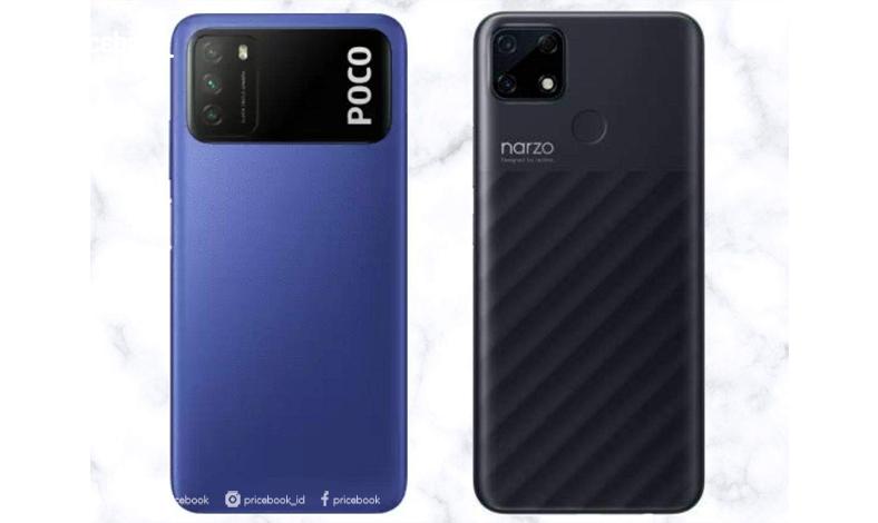 realme Narzo 30A vs POCO M3