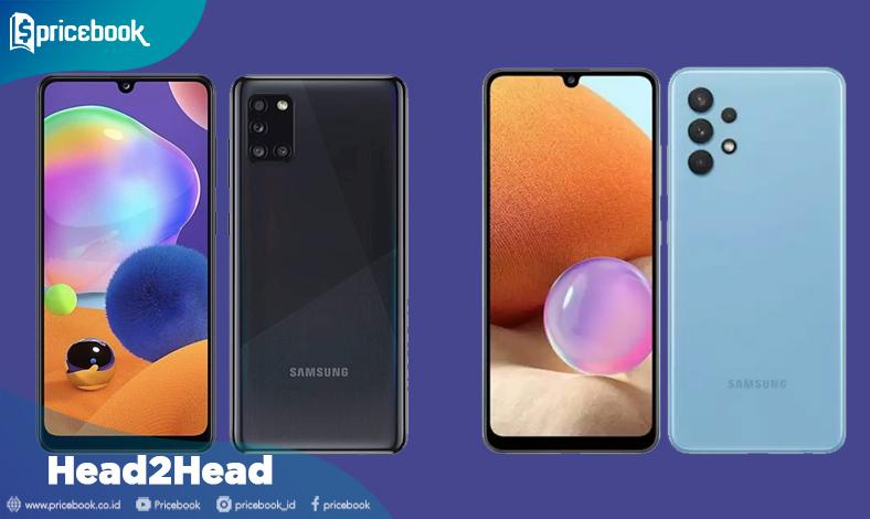 Samsung Galaxy A32 vs Galaxy A31