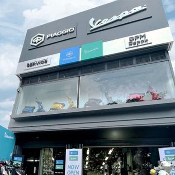 Vespa Buka Dealer Resmi ke-42 di Indonesia, Tawarkan Konsep Kekinian