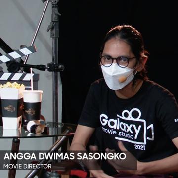 Angga Dwimas Sasongko Bikin Film Pakai Samsung Galaxy S21 Ultra 5G
