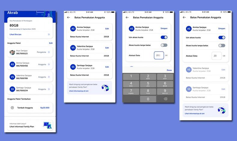 Cara Aktivasi Paket Akrab XL di Aplikasi myXL
