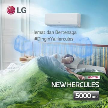 6 Keuntungan Pakai LG New Hercules, Benarkah Hemat Listrik Gak Dingin?