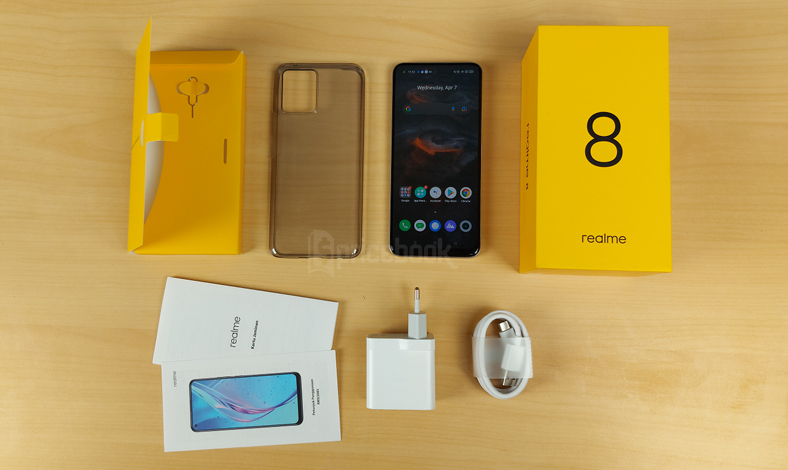 Unboxing realme 8