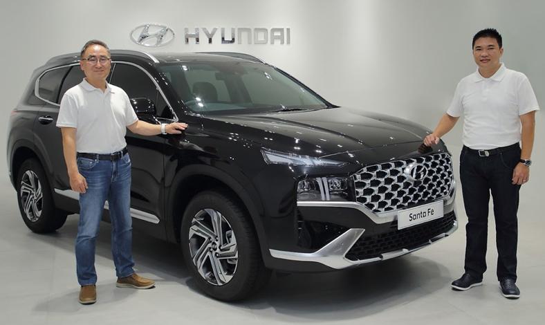 Hyundai New Santa Fe 2021