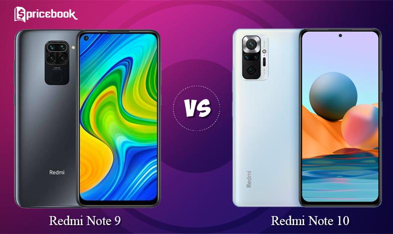 Redmi Note 9 vs Redmi Note 10