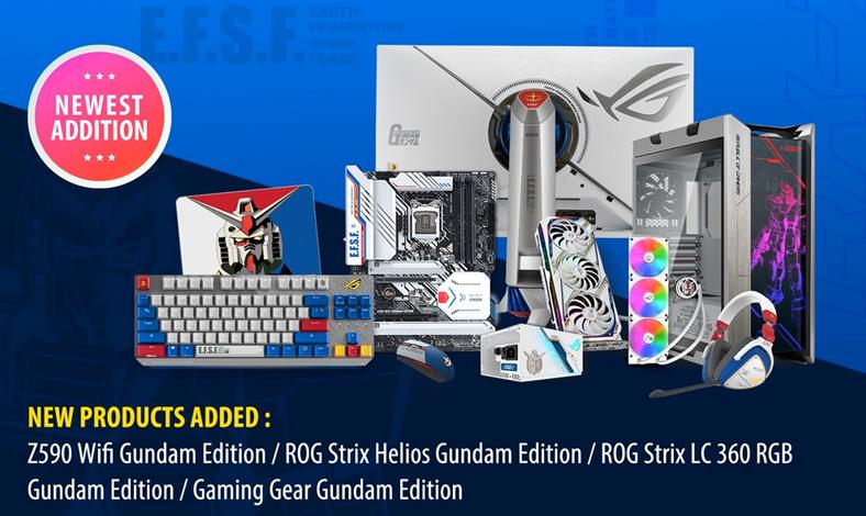 Komponen PC ASUS Edisi GUNDAM