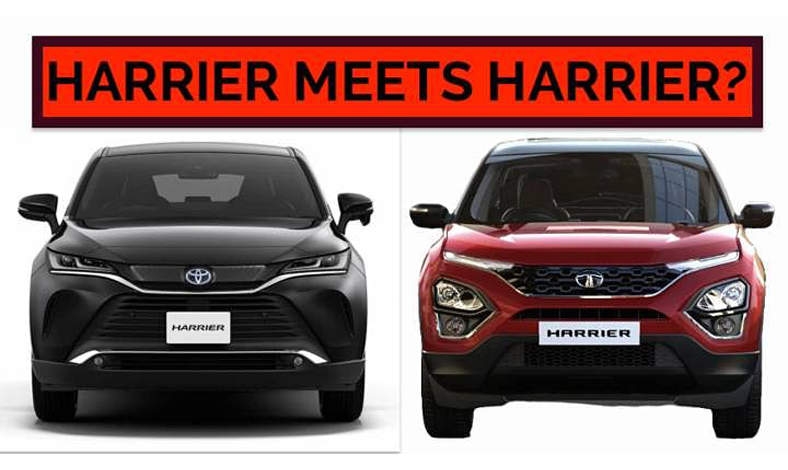 Toyota Harrier vs Tata Harrier
