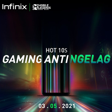 Bocoran Desain Infinix HOT 10S, Gandeng Mobile Legends: Bang Bang