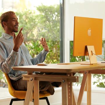 iMac Baru Resmi Debut, Dibekali Chip M1 dengan 7 Warna Stylish