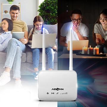 ADVAN Rilis Router WiFi yang Bisa Pakai SIM Card Semua Provider