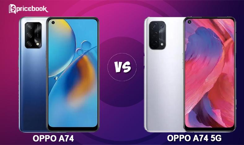 OPPO A74 vs OPPO A74 5G
