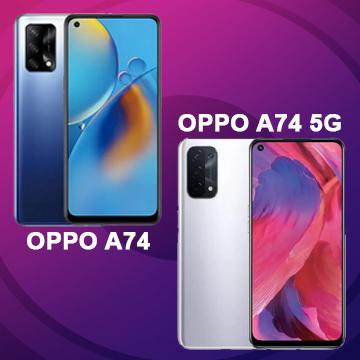 Spek OPPO A74 vs OPPO A74 5G, Tak Sekedar Beda 5G