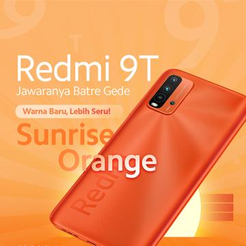 Xiaomi Rilis Warna Baru Redmi 9T, Harga Mulai Sejutaan