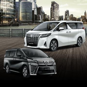 Toyota New Vellfire dan New Alphard Hadir dengan Desain Baru