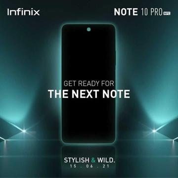 Penjualan Perdana Infinix Note10 Pro NFC Ditunda!