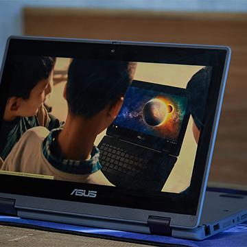 ASUS BR1100, Laptop Khusus Anak Anti Bakteri