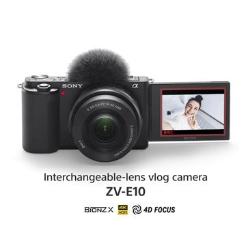 Sony Perkenalkan Alpha ZV-E10, Kamera untuk Kreator Konten