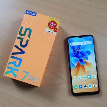Review TECNO Spark 7 NFC, Fitur NFC di Harga 1 Jutaan