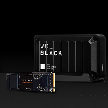 Western Digital SSD Gaming WD_BLACK untuk Playstation dan PC
