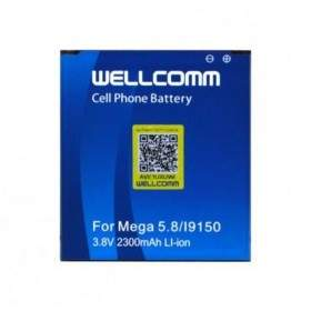 Baterai & Charger HP Wellcomm Battery For Samsung Galaxy Mega