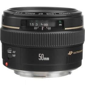 Lensa Kamera Canon EF 50mm f / 1.4 USM