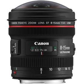 Canon EF 8-15mm f / 4 L Fisheye USM