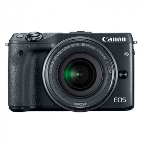 Mirrorless Canon EOS M3 Kit 18-55mm
