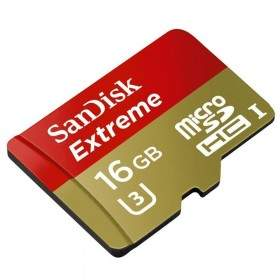 SanDisk Extreme microSDHC Class 10 16GB