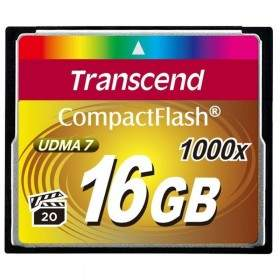 Transcend CompactFlash 1000x 16GB