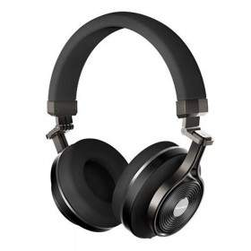 Bluedio UFO Plus Bluetooth Wireless On-ear Headphones with Mic (Black) - 5