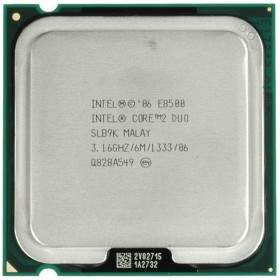 Processor Komputer Intel Core 2 Duo E8500