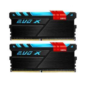 GeIL DDR4 EVO X RGB LED PC19200 Dual Channel 8GB (2x4GB)