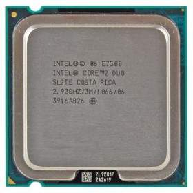 Processor Komputer Intel Core 2 Duo E7500