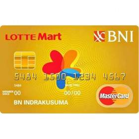 BNI LOTTEMart Card Gold