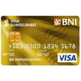 BNI Bank SumselBabel Card Gold