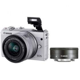 Mirrorless Canon EOS M100 Kit 15-45mm + 22mm
