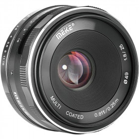 Meike 25mm f / 1.8