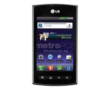 LG MS695 Optimus M+
