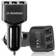 Avantree Triple USB Car