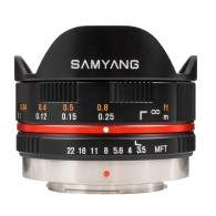 Samyang 7.5mm T3.8 Fisheye VDSLR