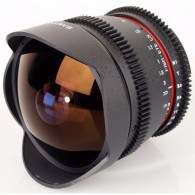 Samyang 8mm T3.8 UMC Fish-Eye CS II VDSLR For Nikon