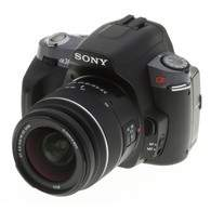 Sony A-mount DSLR A380Y Kit 18-55mm + 55-200mm