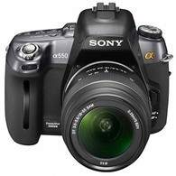 Sony A-mount DSLR A550L Kit