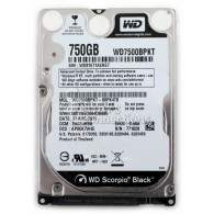 Western Digital Scorpio Black WD7500BPKT 750GB