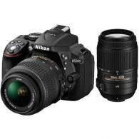 Nikon D5500 Kit 18-55mm + 55-300mm