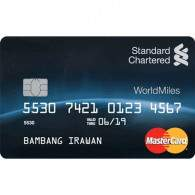 Standard Chartered MasterCard WorldMiles