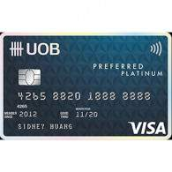 UOB Indonesia Preferred Platinum Visa