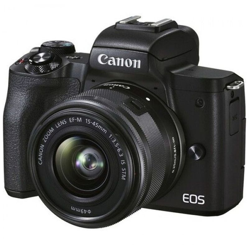 Canon EOS M50 Mark ii Kit 15-45mm + 55-200mm