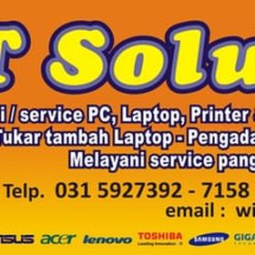 IT SOLUTION Surabaya (Tokopedia)