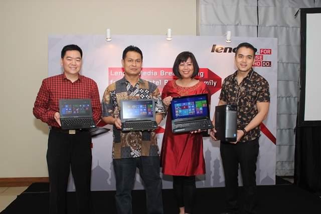 Lenovo Rilis Netbook dan Desktop Berbasis Intel Bay Trail